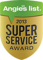 Twin Flooring Angies List 2013 Award
